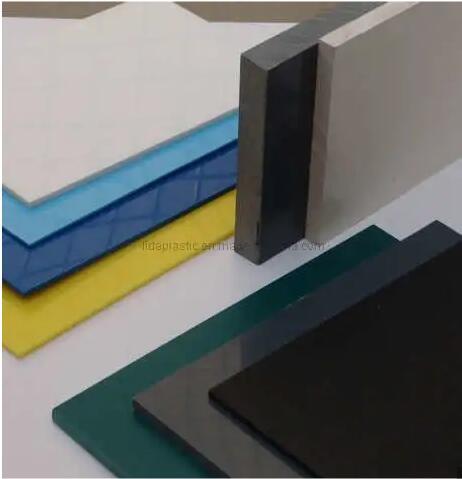 colorful pvc rigid sheet for wall cladding