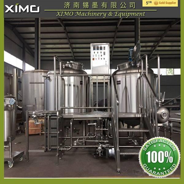 Beer Brewhouse, Beer Brewery, Steam Heating Beer Brewing Equipment
