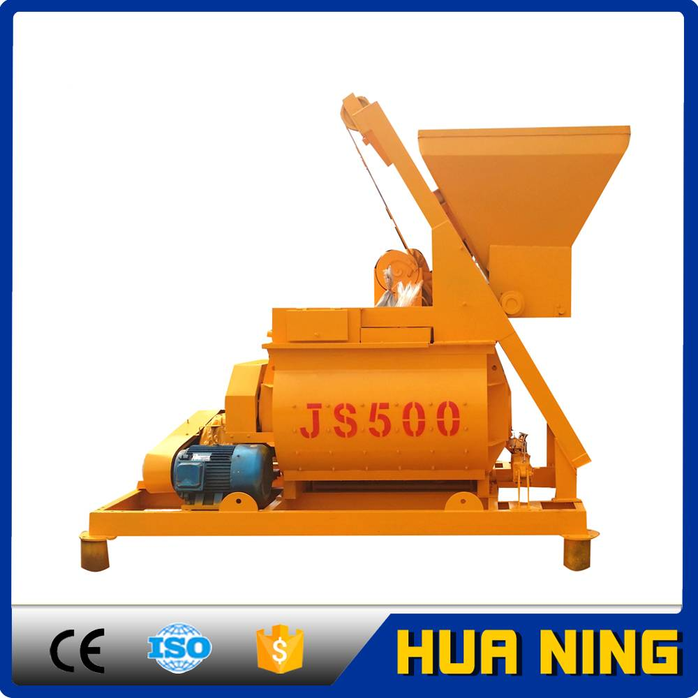 Low Consumption Accurate Pneumatic 500 liters Concrete Mixer for Sale