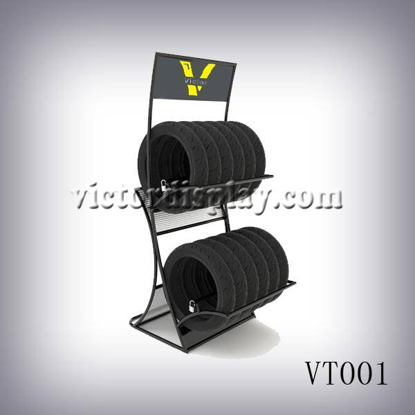 Tire display stands VT001
