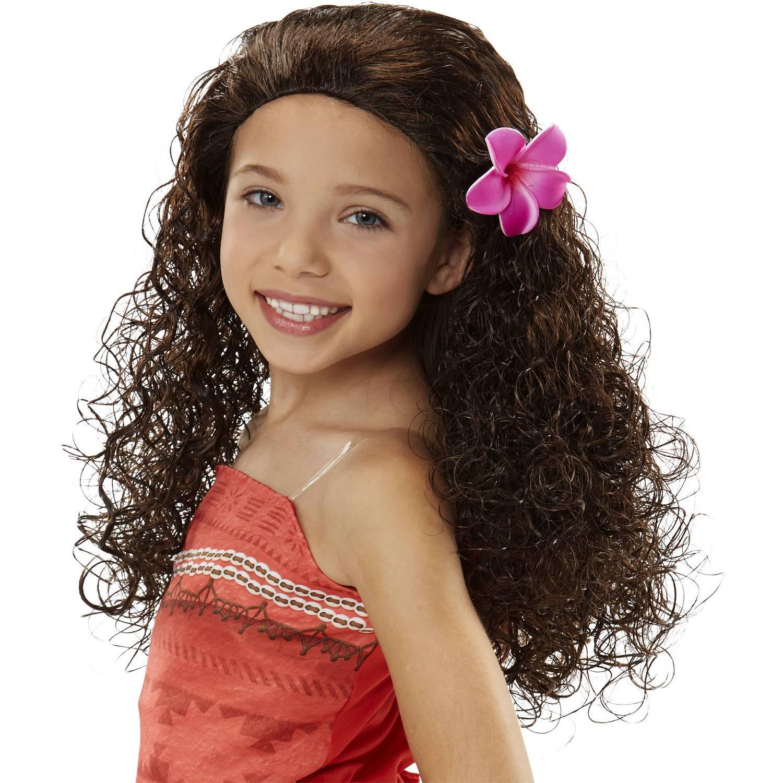 Disney movie Moana cosplay wig,Moana style wig