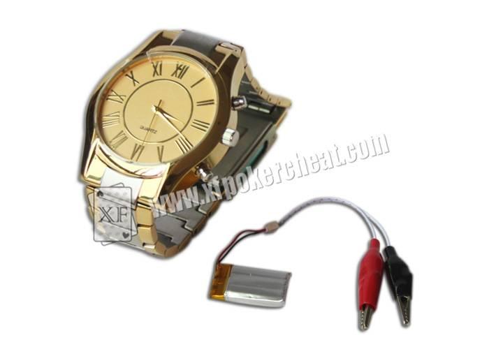 Wrist Watch Spy Camera Poker Scanner for CVK350