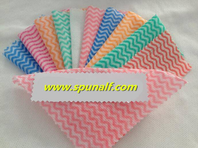 OEM China manufacturer high quality PET/Viscose spunlace nonwoven fabric