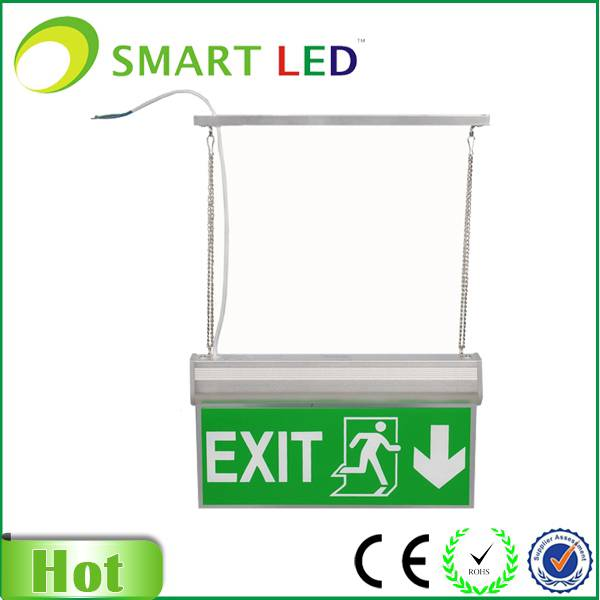 hanging type exit sign with CE ROHS SAA