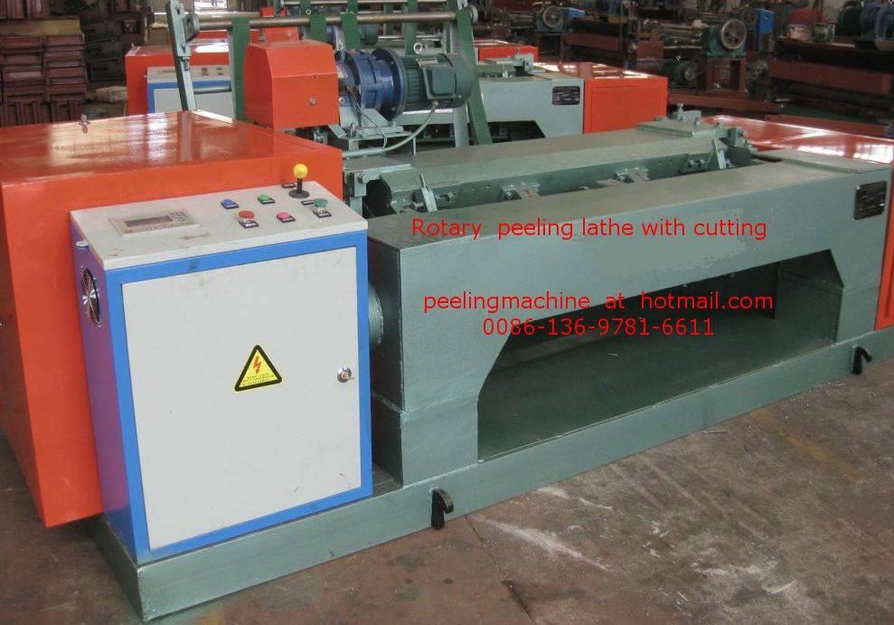 CNC Spindle less Veneer Peeling Machine