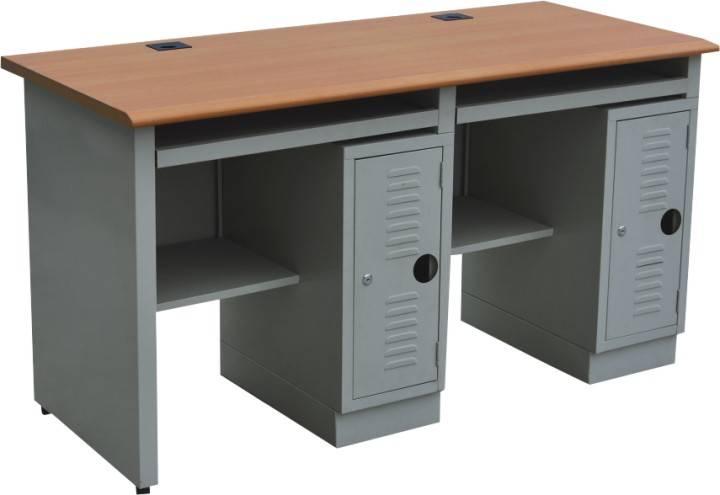 2 person steel computer desk