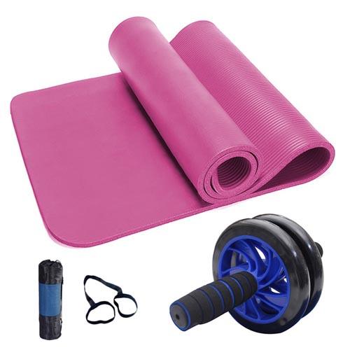 yoga mat and bdominal chakra 2 set