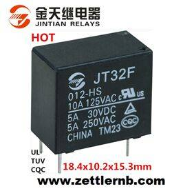PCB Power Relay with Subminiature Size (32F: 1 Form A/C) Professional Factory
