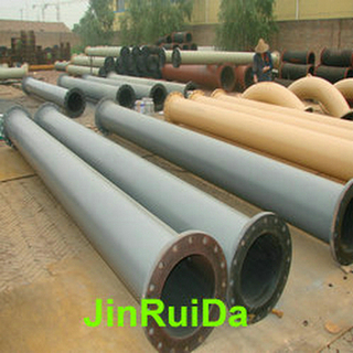 Heat Vulcanized Rubber Lined Pipeline