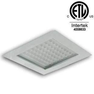 120w radar sensor LED gas station light ceiling type and embedded type