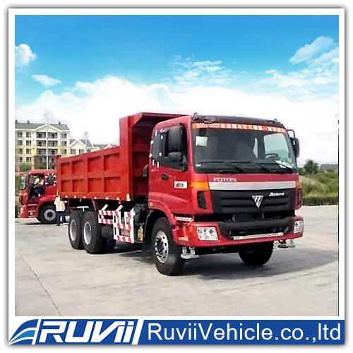 Qingdao Ruvii Special 6*4 dump trucks top sale for tipper trucks made in china