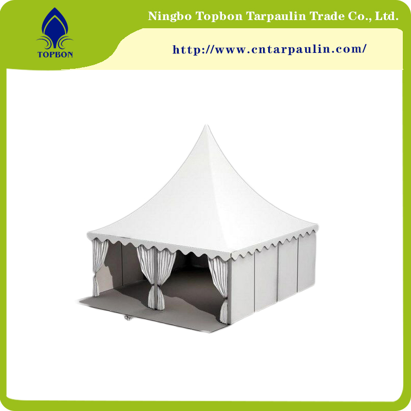 White PVC Tarps for Tents Tb889