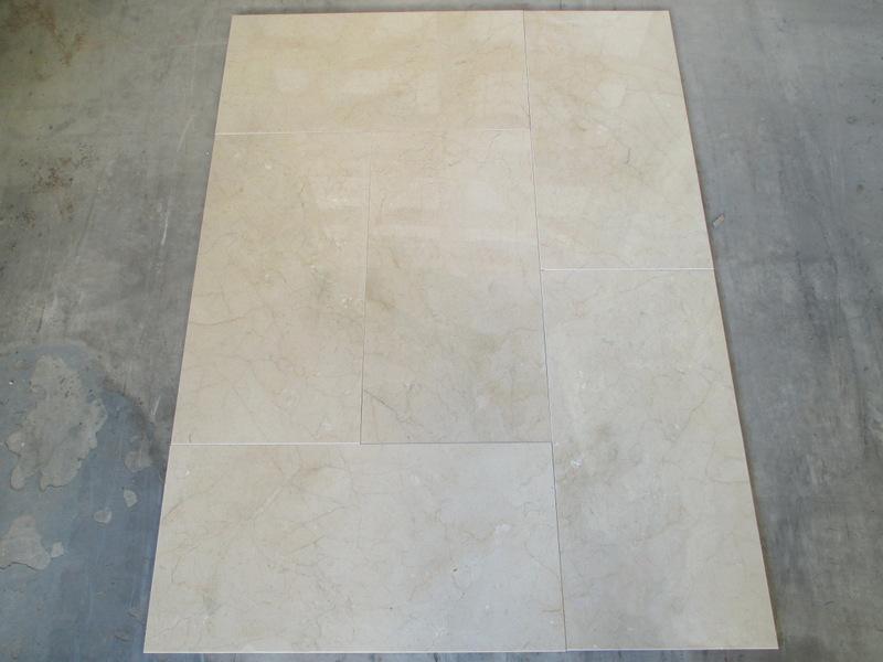 Marble Crema marfil 61x30,5x1 cm Standard Range