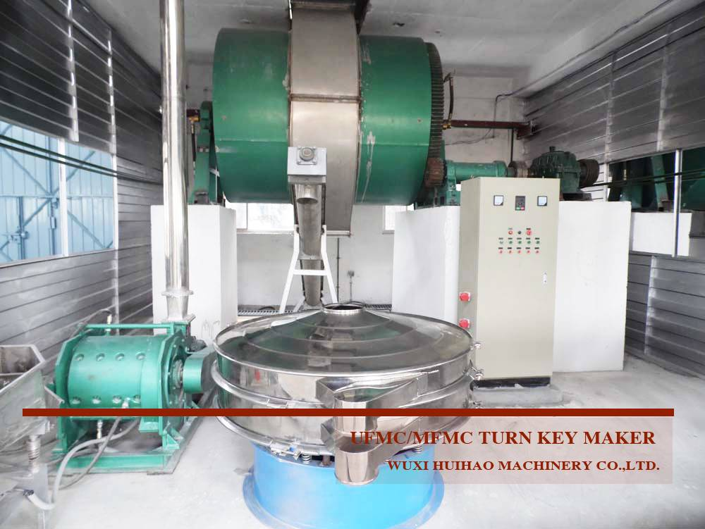 Urea molding ball mill