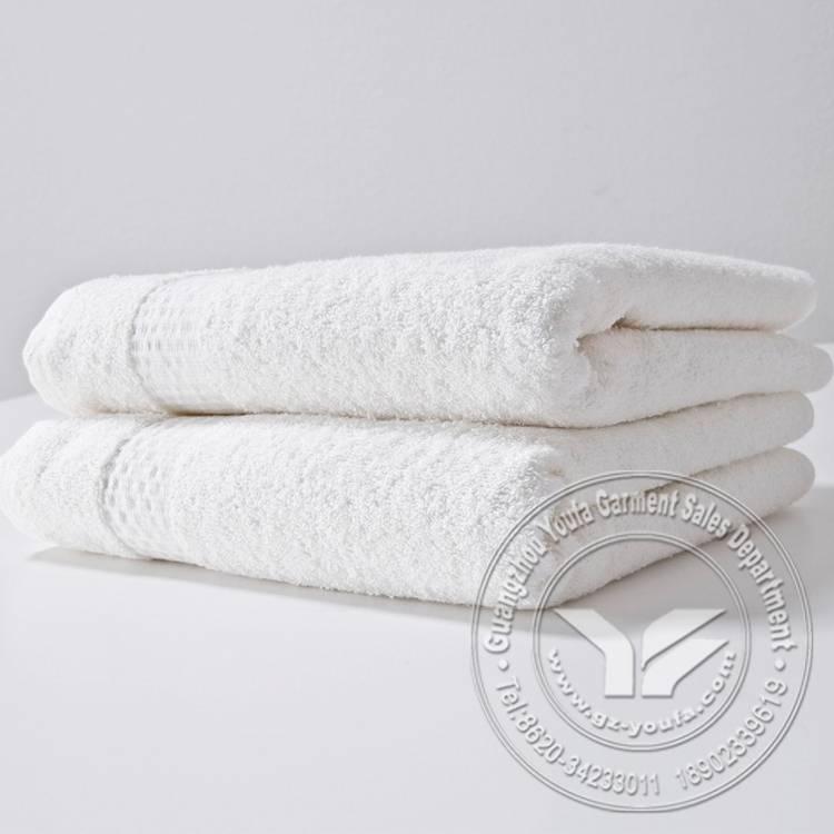 Hot sale 100% cotton jacquard hotel towel