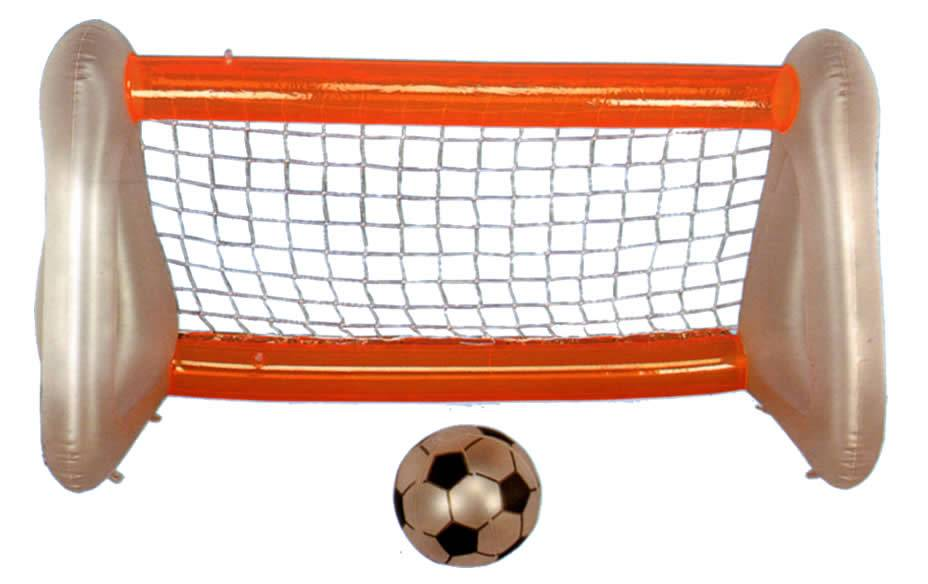 Inflatable football soccer goal