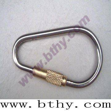 Titanium Carabiner with Copper Sheeve