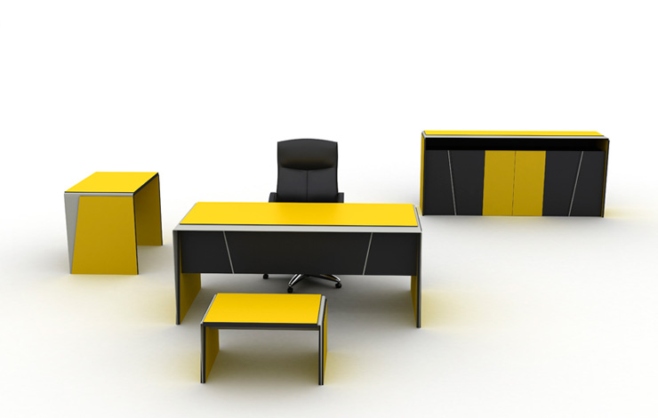 Cheap personnel executive commercial office desk made in Turkey