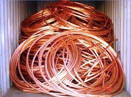 Copper wire scrap-  milberry