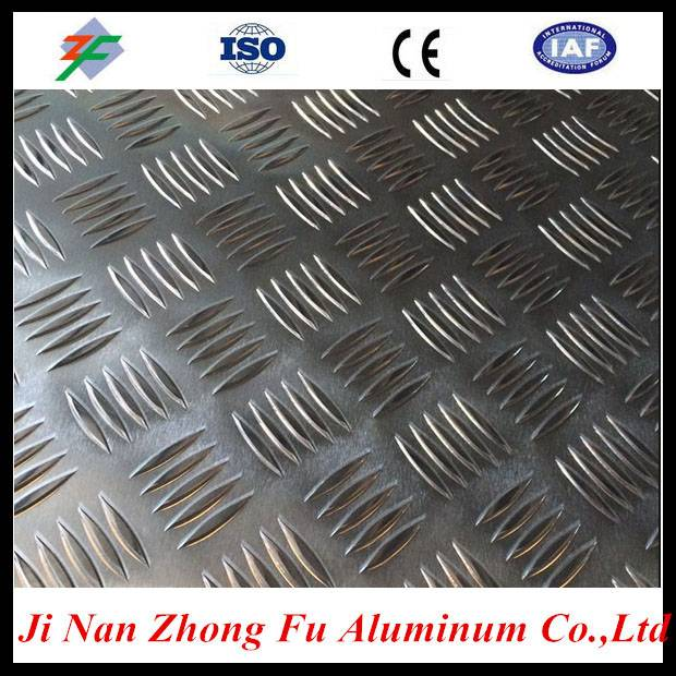 Professional used skid resistance for five bar aluminum sheet