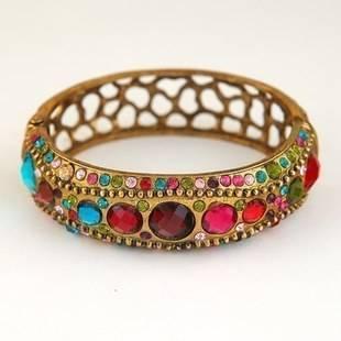 OnlySweetie-Fashion Jewelry-Bracelet-Alloy-Zircon