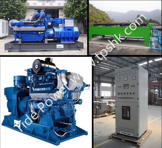 MWM Gas Generator Set Natural Gas Genset Biogas
