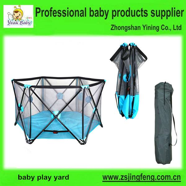 6 Sides Indoor Outdoor Baby Play Yard Baby Folding Playen
