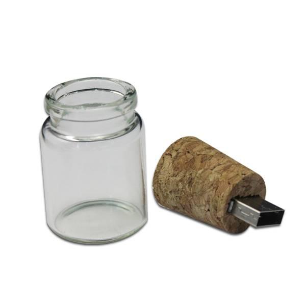 New Design Bottle Shape USB Flash Disk for promotional gift