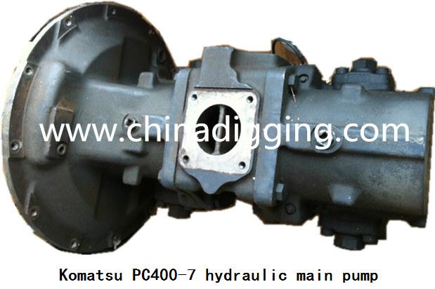 Komatsu PC400-7 excavator hydraulic pump main pump assy