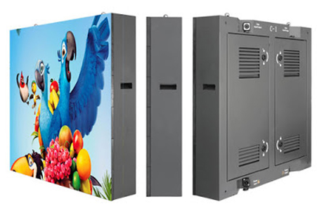 Front access commercial LED display screen