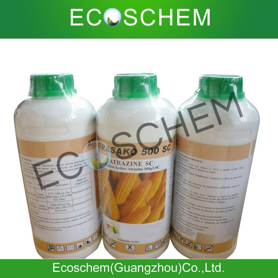 Agrochemical selective systemic herbicide atrazine 97%TC, 80%WP, 50%wp, 50%SC
