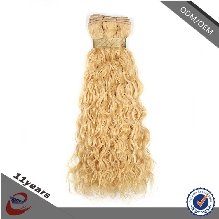 Grade 7A Natural Wave Raw Virgin Indian Human Hair , Unprocessed Remy 100 Human Hair