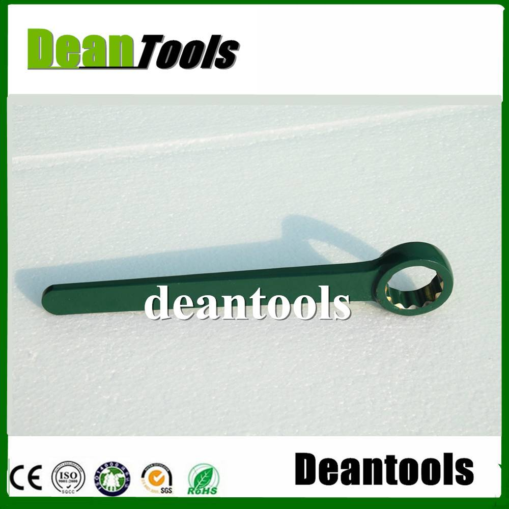 high grade non spark safety single straight box wrench