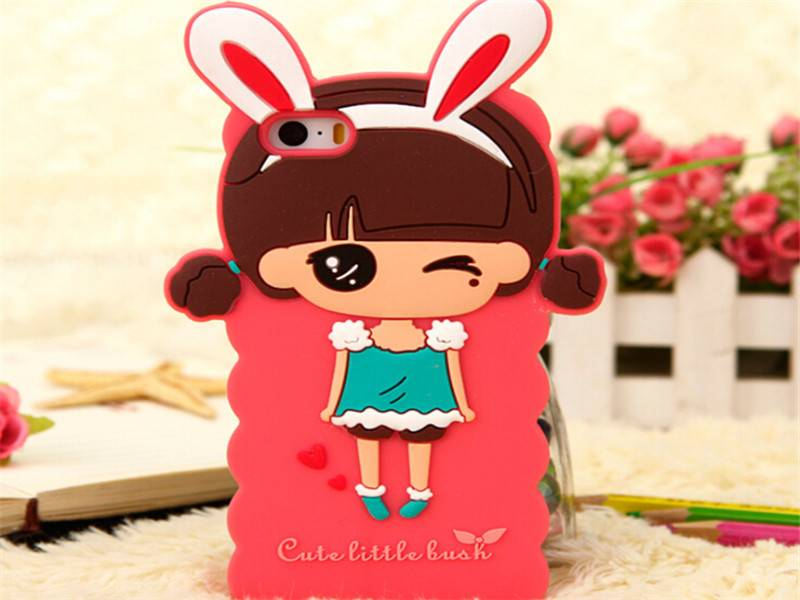 very good and cheap silicone mobile phone cover for iphone 5 case