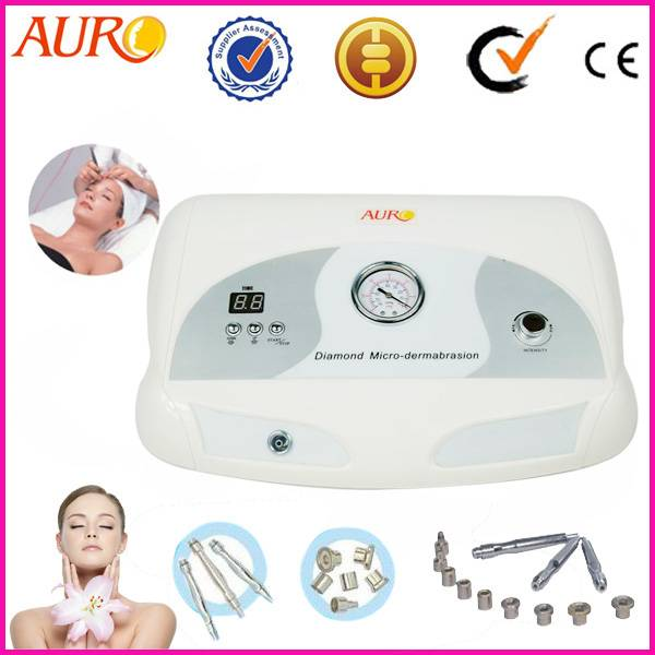 White color Microdermabrasion diamond peeling face lift machine with CE Au-3012