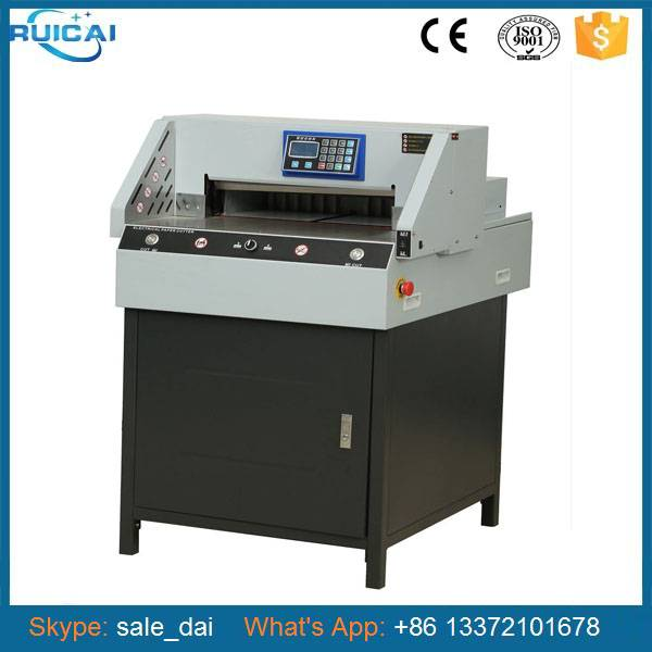 Label Paper Cut Machine with Hydraulic Press with CE Certificate