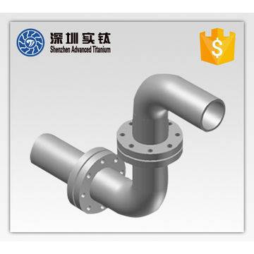 titanium alloy exhuast pipe for engine parts