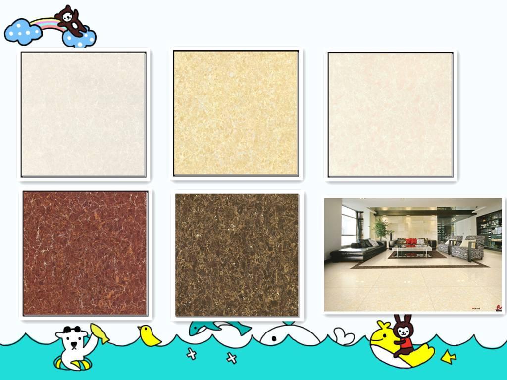 China manufacturer polished porcelain tile pulaty series 6060cm floor tile