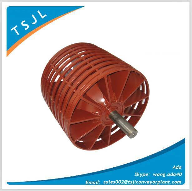 Superior conveyor wing pulleys
