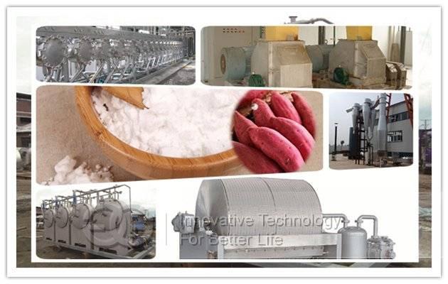 Sweet Potato Starch Production Plant