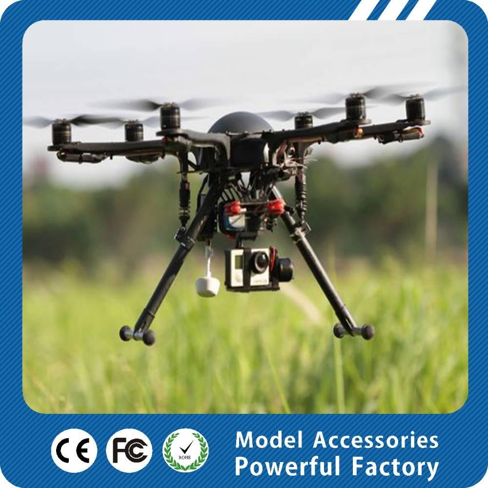 Professional 6-axis uav aerial quadcopter platform system for aerial photography