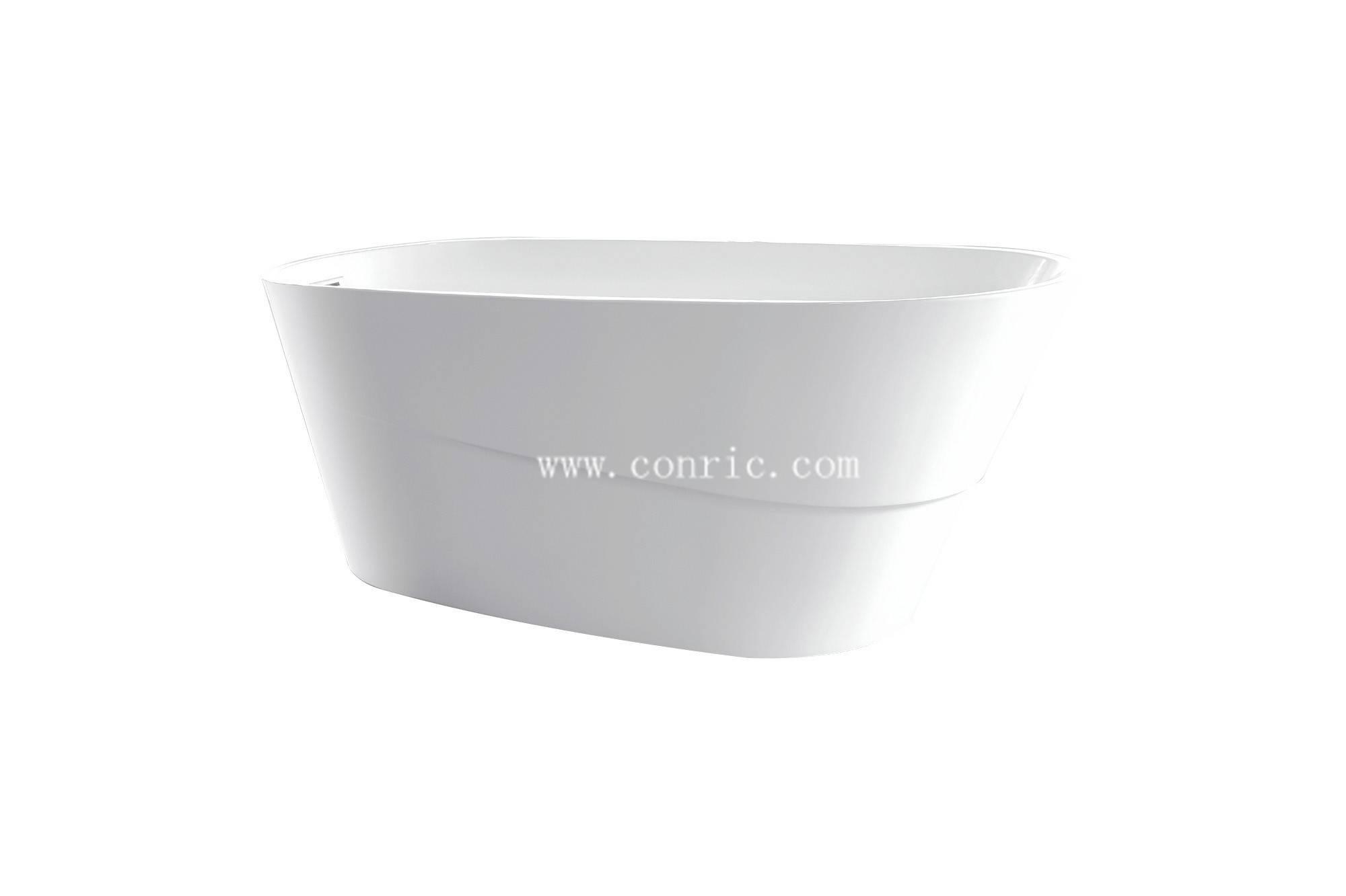 Hangzhou factory pure acrylic material freestanding bathtub