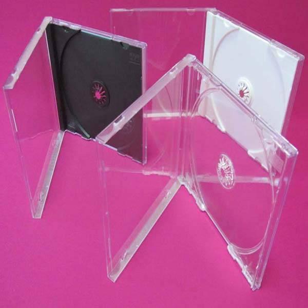 PS super clear cd case