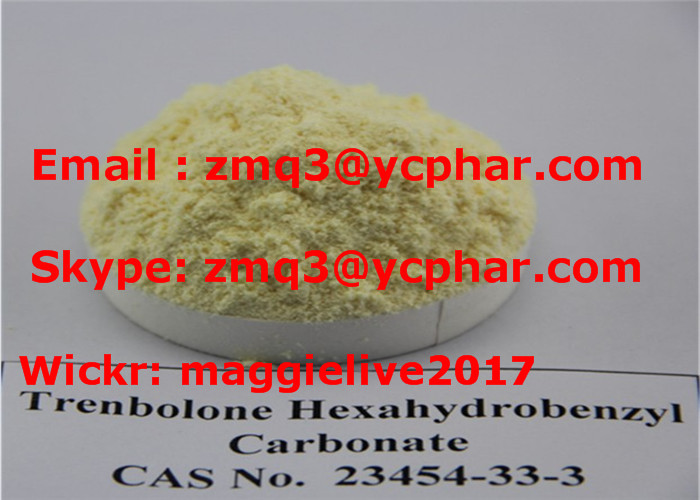 Parabolan Anabolic Steroid Powder Trenbolone Hexahydrobenzyl Carbonate for Weight Loss