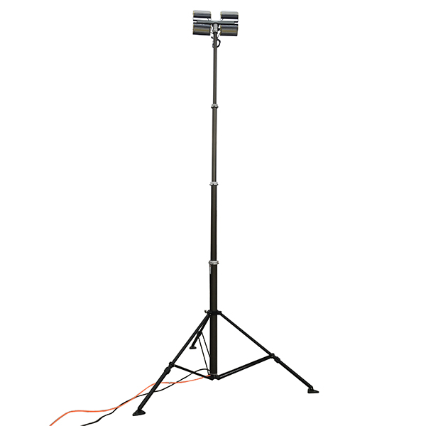 4.2m Tripod Bracket Pneumatic Telescopic Mast Light Tower