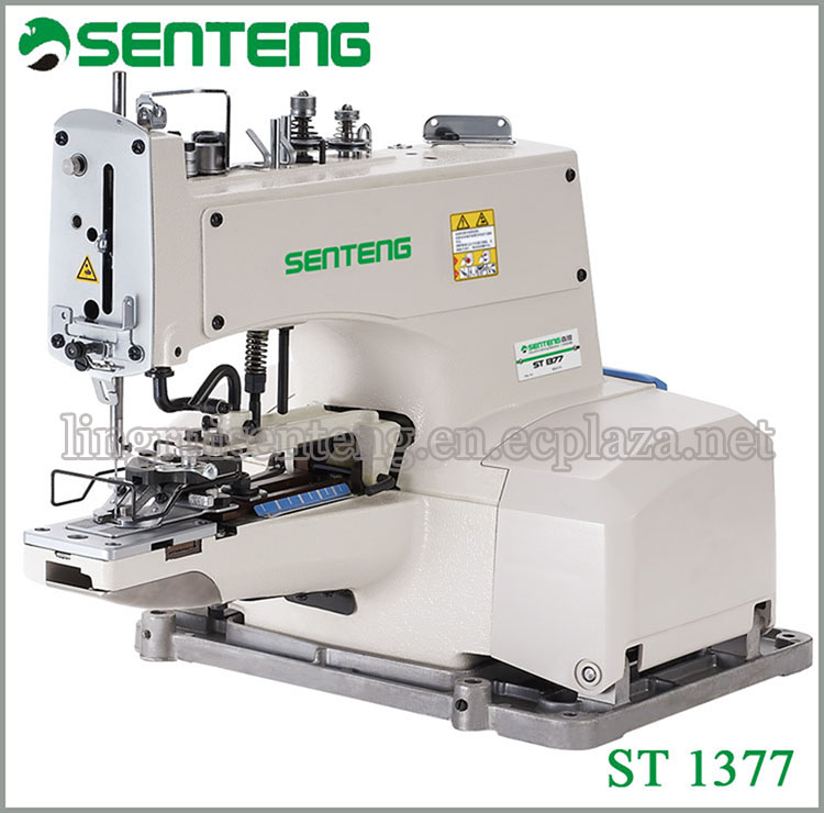 ST 1377 High Speed Button Attaching Sewing Machine