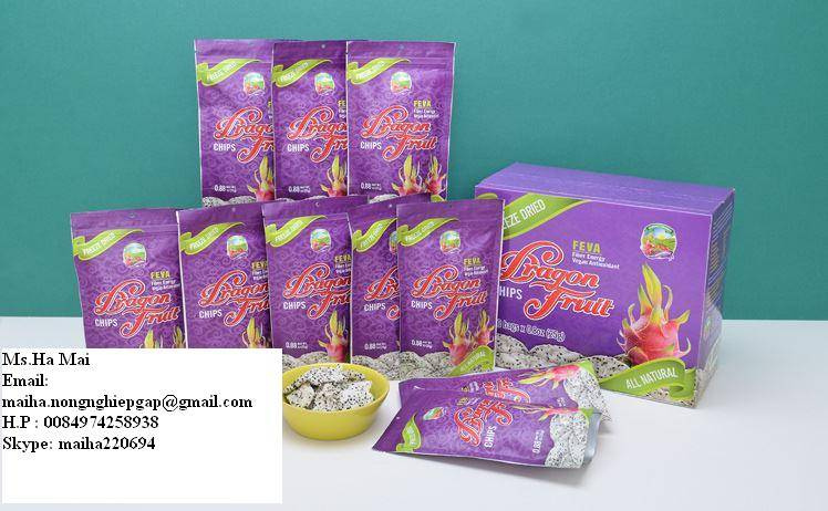 FREEZE DRIED DRAGON FRUIT FROM VIET NAM