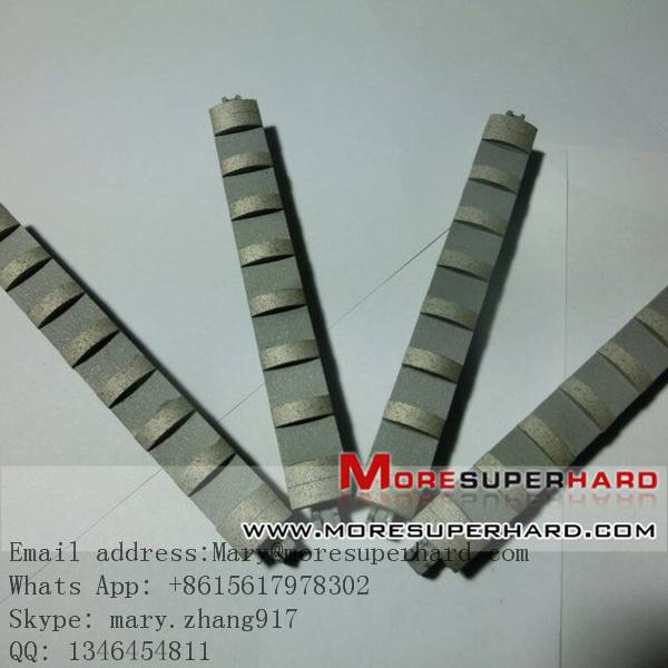 Cylinder boring and honing stone or tools