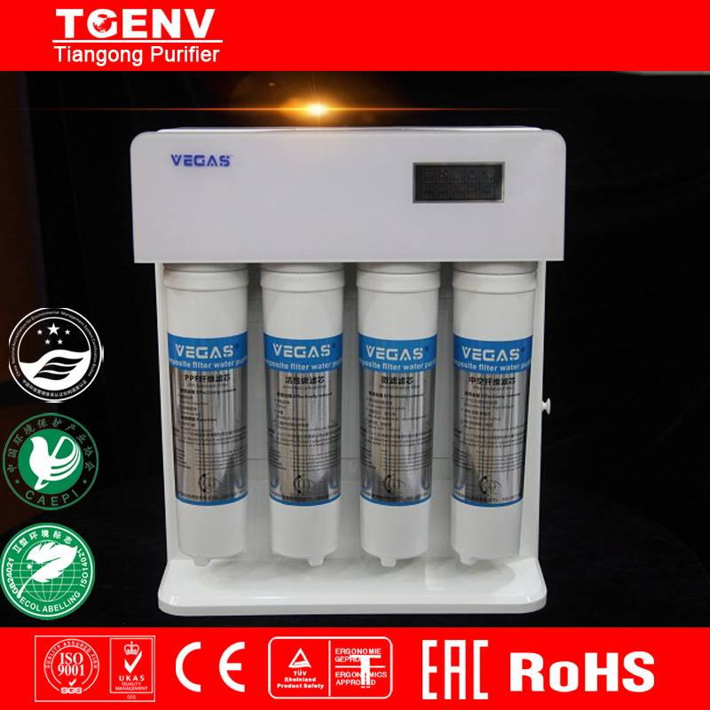 Dust Guard Reverse Osmosis Water Pufirier with Water Filter