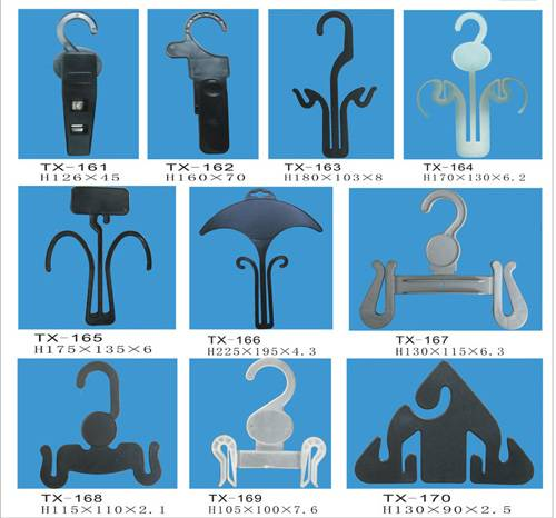 High quality of plastic shoes hooks TX161-TX170produced by our own